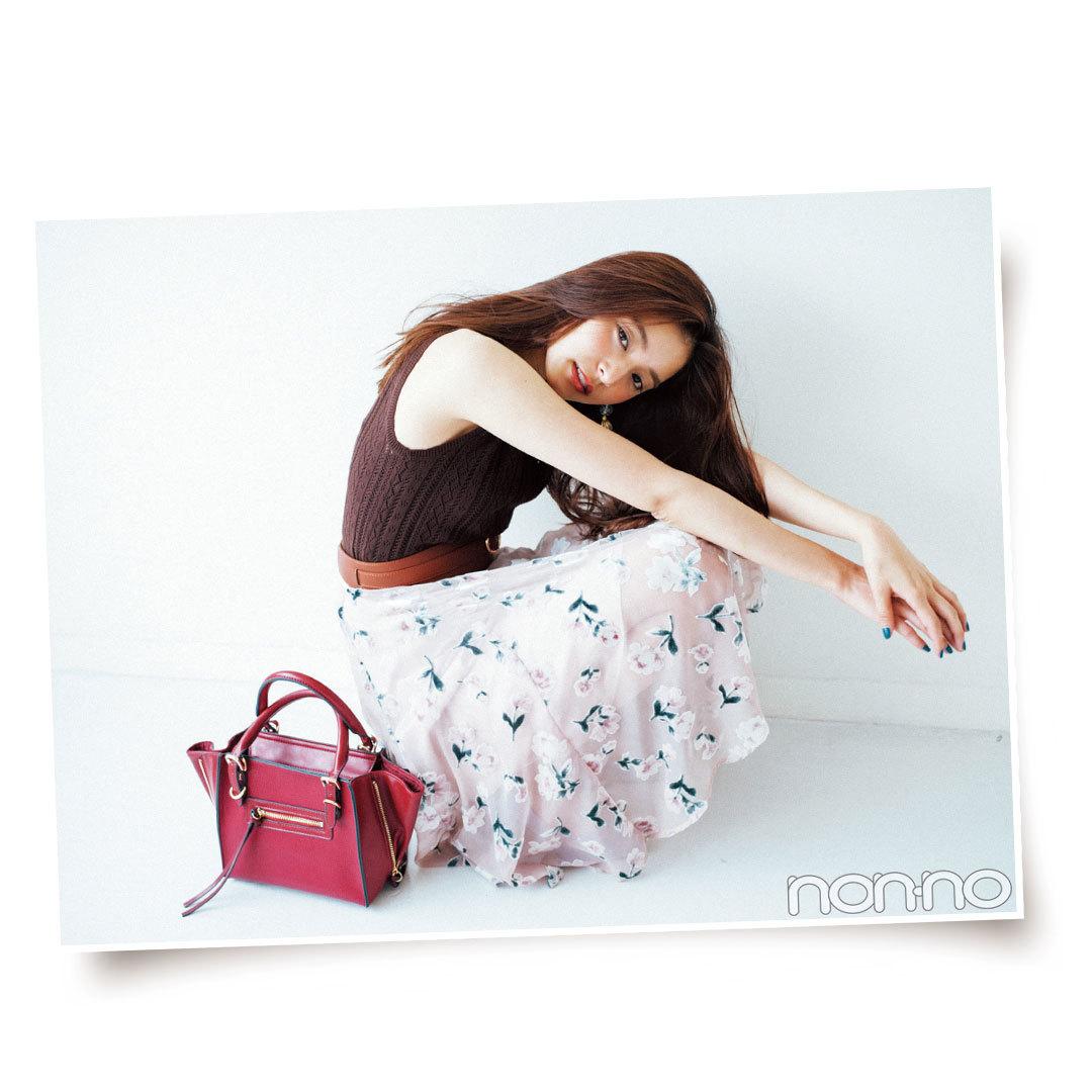 この秋マスト! 花柄スカート&ワンピコーデまとめ♡ _1_1-4