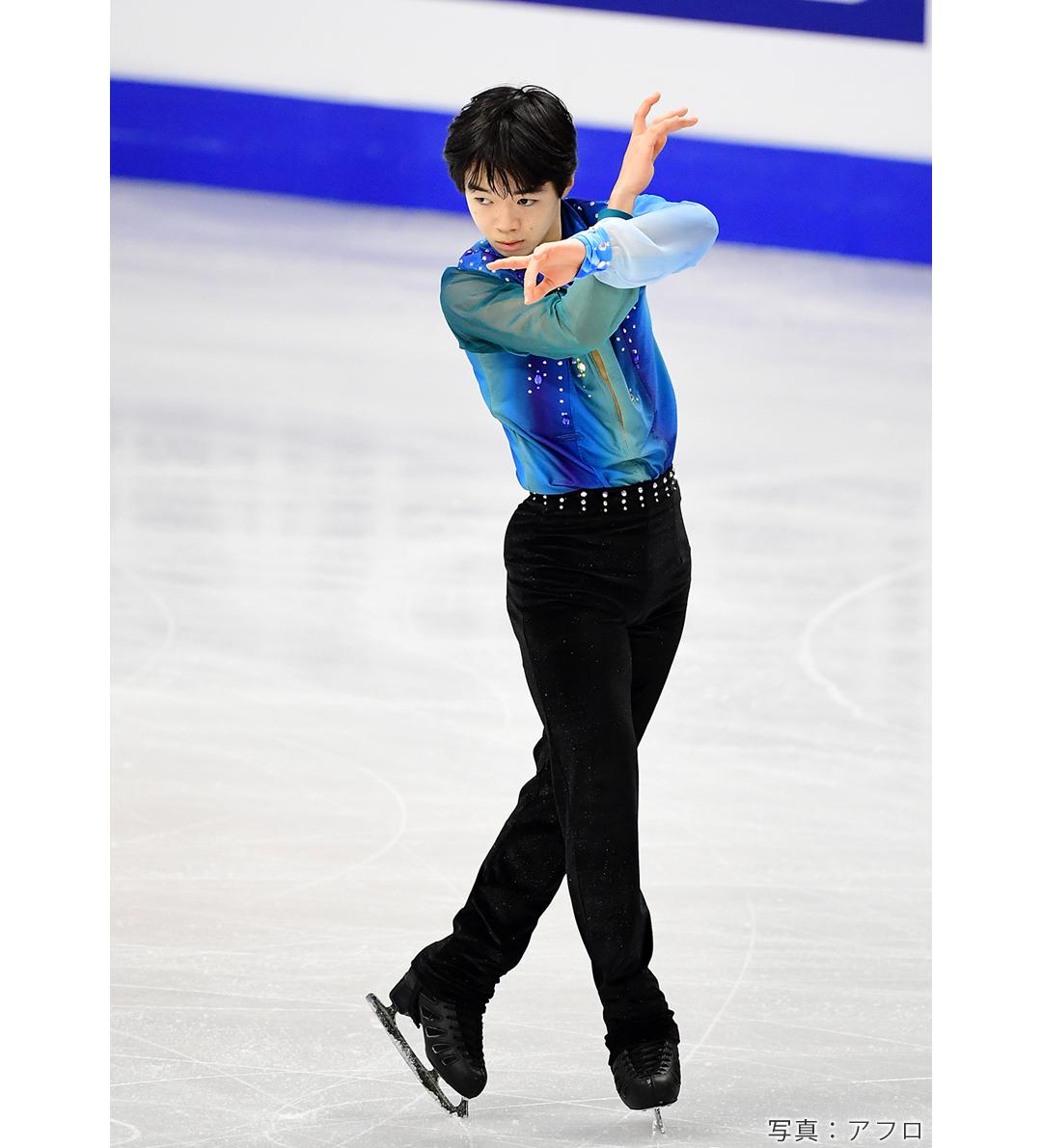 2020年フィギュアスケート四大陸選手権に出場した鍵山優真選手