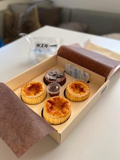 本家直伝のバスクチーズケーキをテイクアウト_1_1