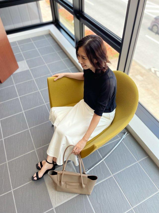 マリソルを参考に白&黒コーデ♡《ゆっこのファッション》_1_3