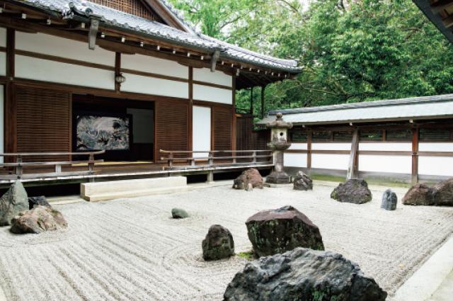 重森三玲作の石庭
