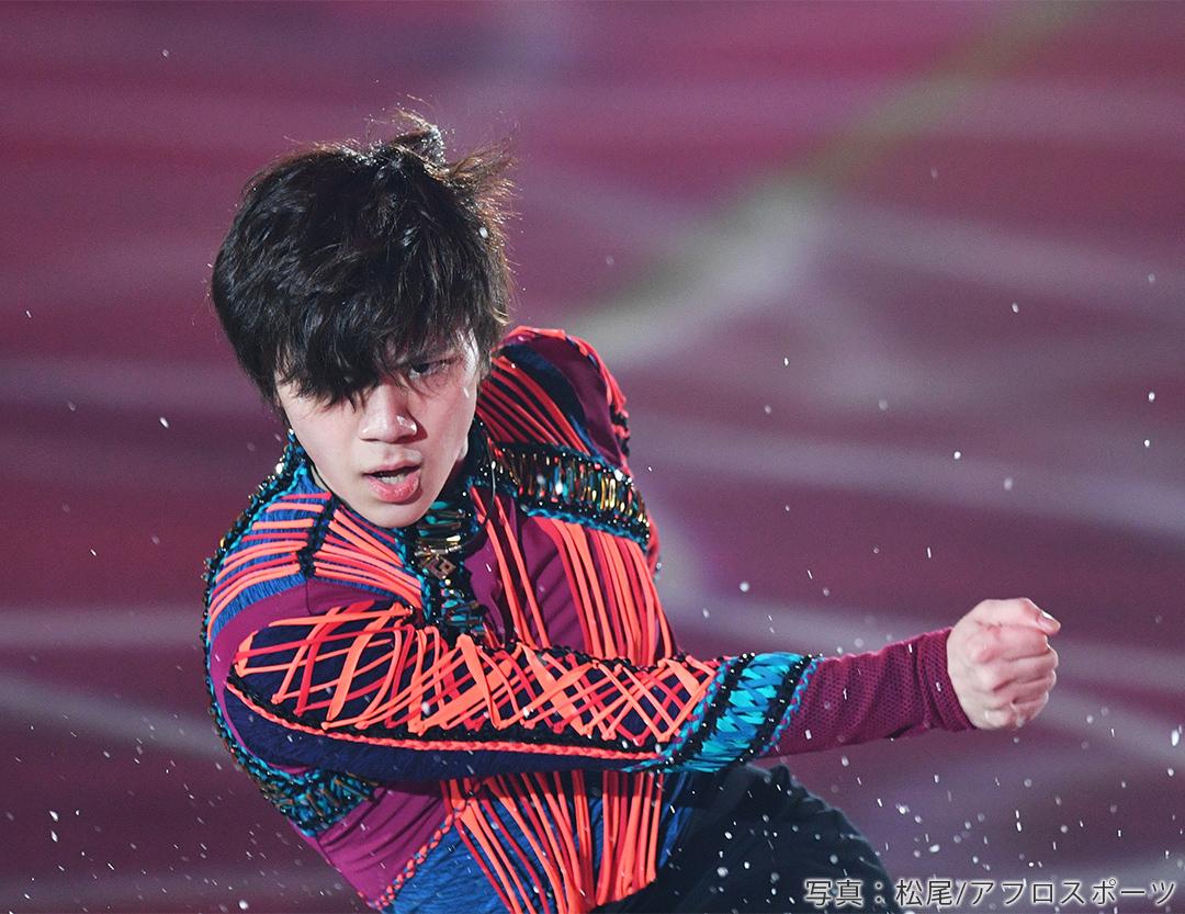 アイスショー、フレンズオンアイス2019に出演した宇野昌磨選手