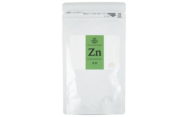 M's supplement Zn 60カプセル入り ¥6,480/松倉クリニック表参道