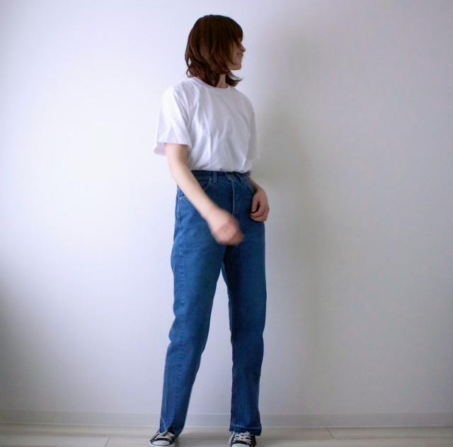 【モデル竹下玲奈さん&Lee】コラボ第一弾♡デニムを履いてみた_1_6