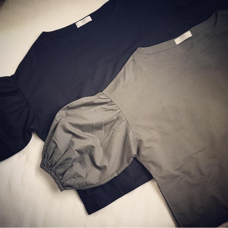 ユニクロでイロチ買いしたのはコレ!バルーンスリーブシャツはシンプルだけど華やかなコーデの救世主_1_1