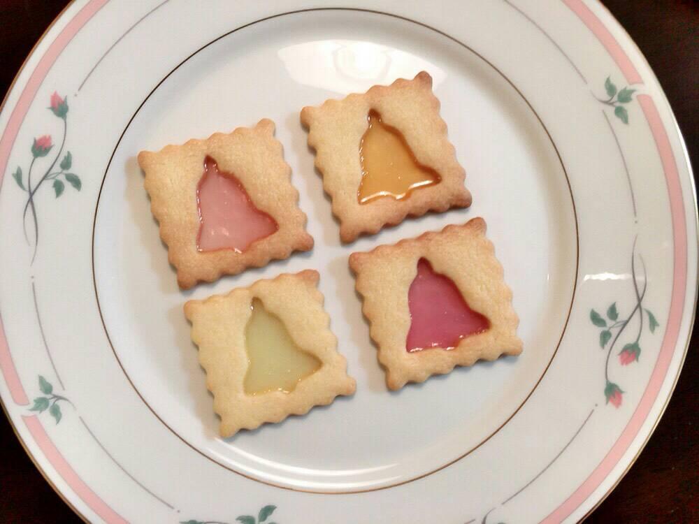 クリスマスにぴったり!ステンドグラスクッキー♪( ´▽`)_1_3
