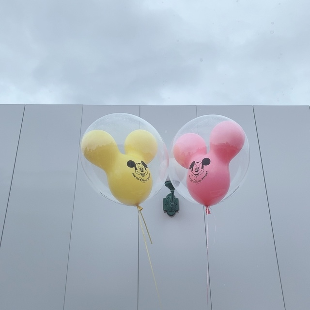 【 TokyoDisneyland 】風船が 、可愛いすぎる!_1_5