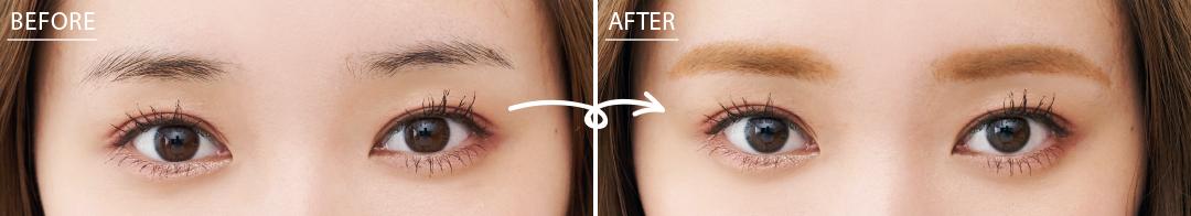 「韓国っぽ美人眉」のメイクプロセスを超ていねい解説!_1_3