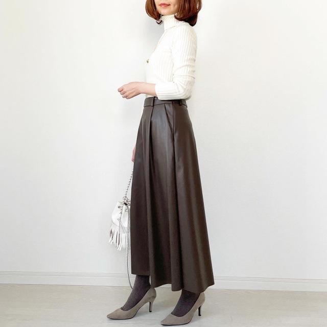 GU本当に買って良かったスカート!【tomomiyuコーデ】_1_7
