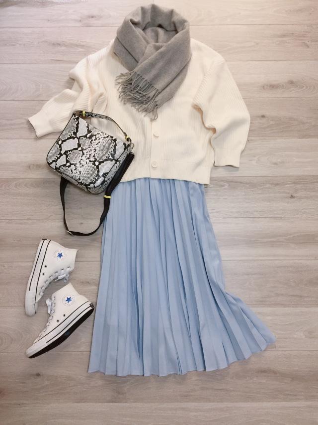 オールUNIQLOホワイトコーデ♡【momoko_fashion】_1_1-2