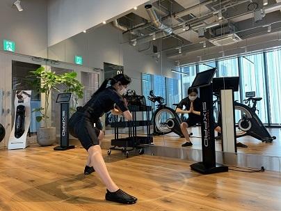 SIXPAD SHOWROOM GINZA でシックスパッドトレーニング体験♪_1_3