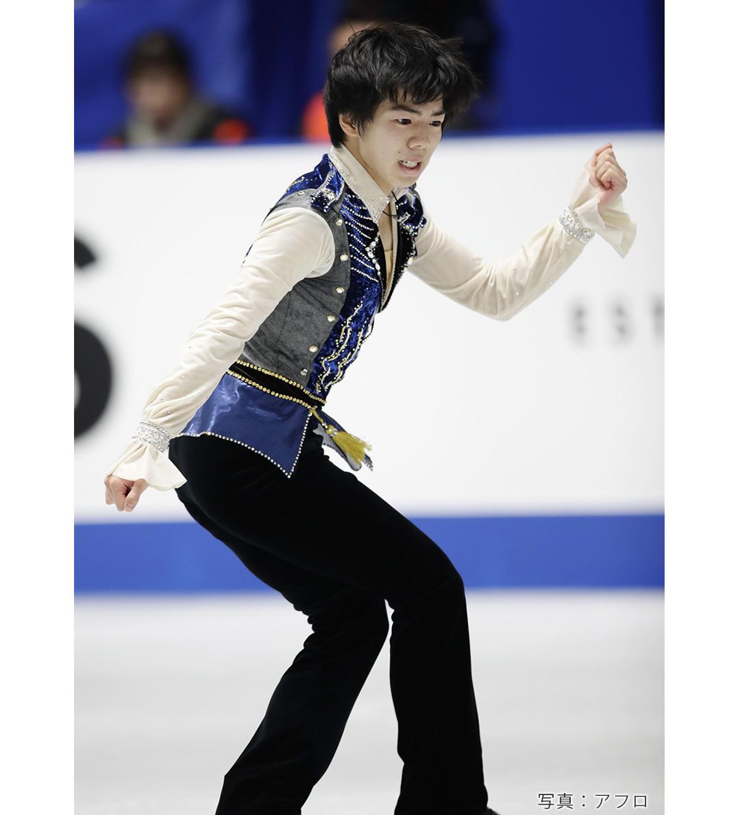 フィギュアスケート男子シングル佐藤駿選手のロミオとジュリエット