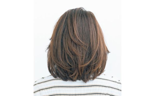 前髪の外ハネボブ