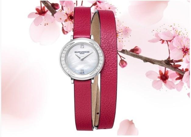 桜の季節にぴったり! ボーム&メルシエの春の限定モデル_1_1-2