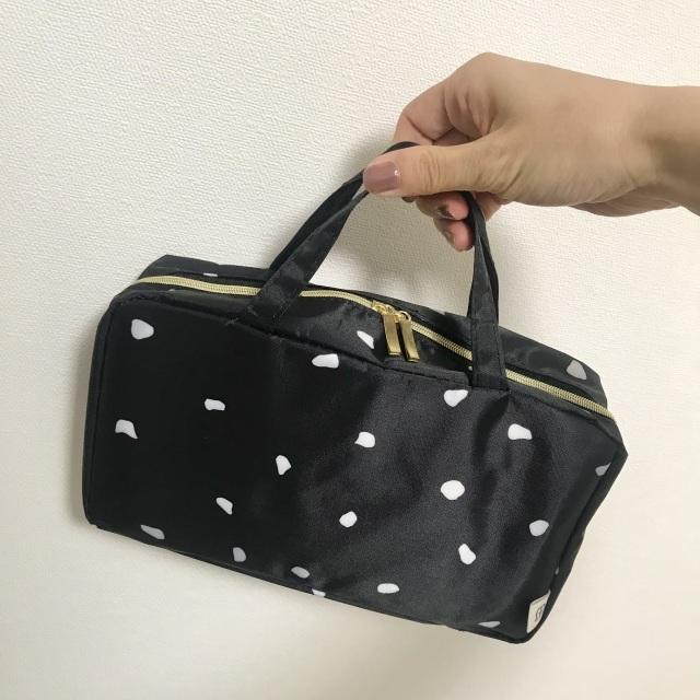 マリソル6月号の付録マルティニーク「女っぷりトラベルコスメminiバッグ」の使い方実例8