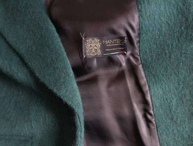 今年初めてハマった色「ダークグリーン」のZARAコートで冬を乗り切る_1_2