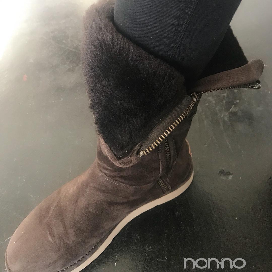 泉はるはチャオパニックのニット×UGGのブーツでシンプルあったか♡【モデルの私服】_1_2-2