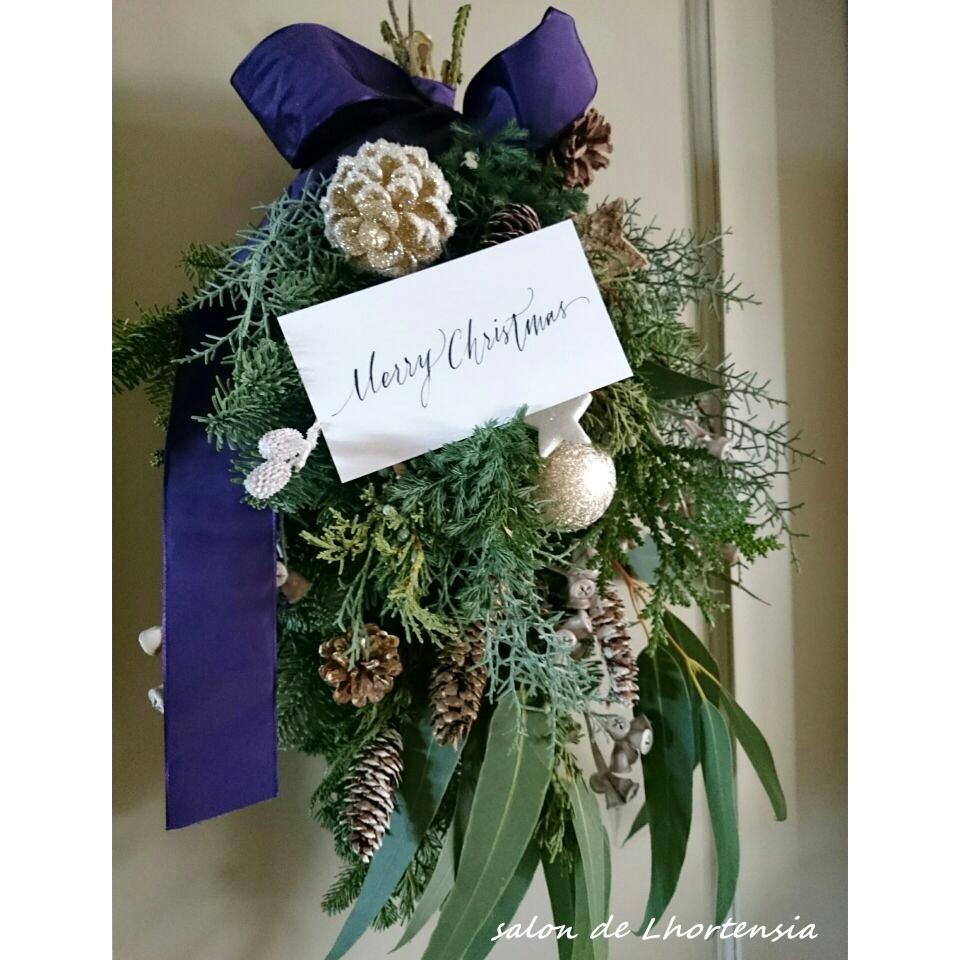 今年のクリスマスは大人のスワッグで♡_1_1