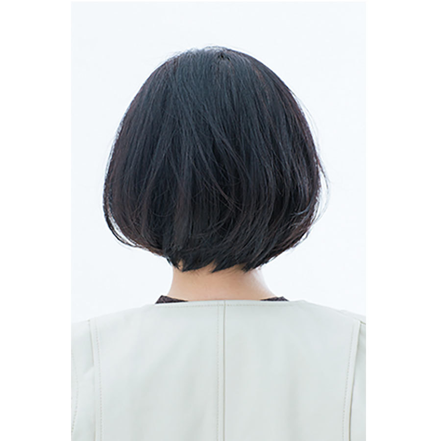 後ろから見た人気ヘアスタイル2位の髪型