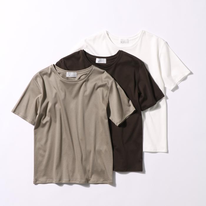 40代ファッション 松村純子×エムセブンデイズ コラボTシャツ