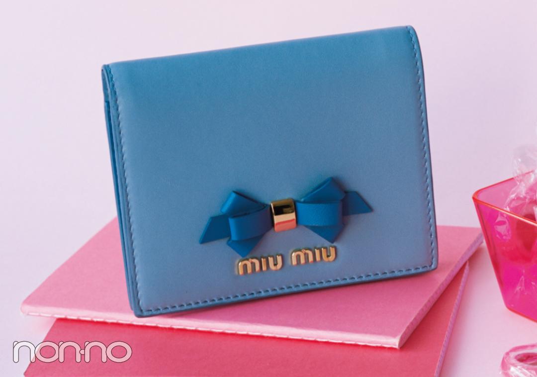大人可愛いの大本命♡ ミュウミュウのミニ財布をチェック!【20歳からの名品】_1_3-4