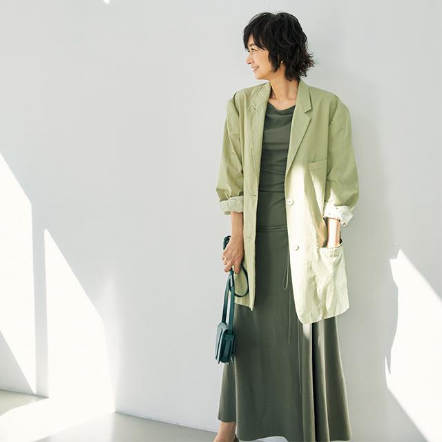 LEMAIREのジャケット 富岡佳子