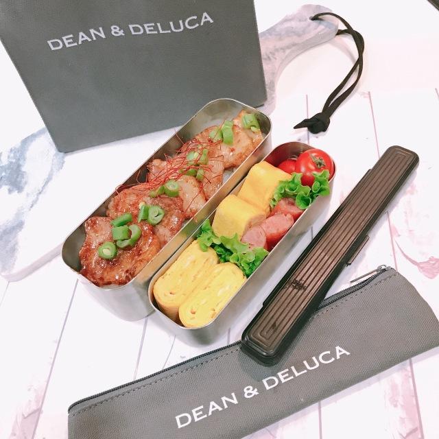 DEAN&DELUCAランチバッグとカトラリーケース♡_1_2