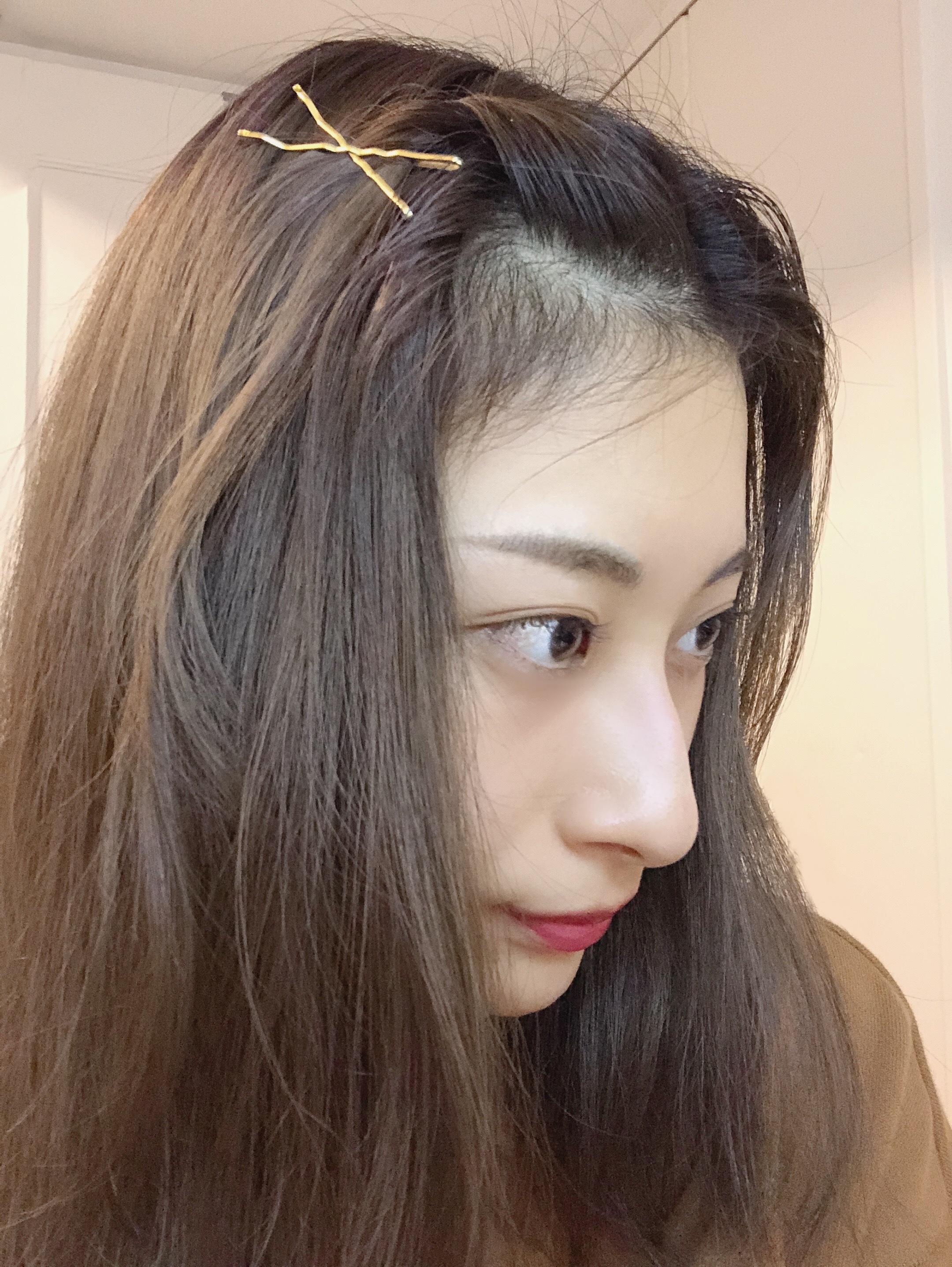 【簡単ヘアアレ】雨の日OK前髪アレンジ_1_3