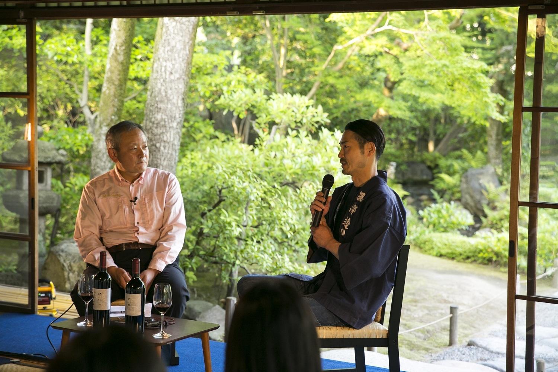 素晴らしい日本庭園を眺めながら、日本ワインを味わう……シャトー・メルシャン『Tasting Nippon』イベントレポート【飲むんだったら、イケてるワインWEB特別篇】_1_8