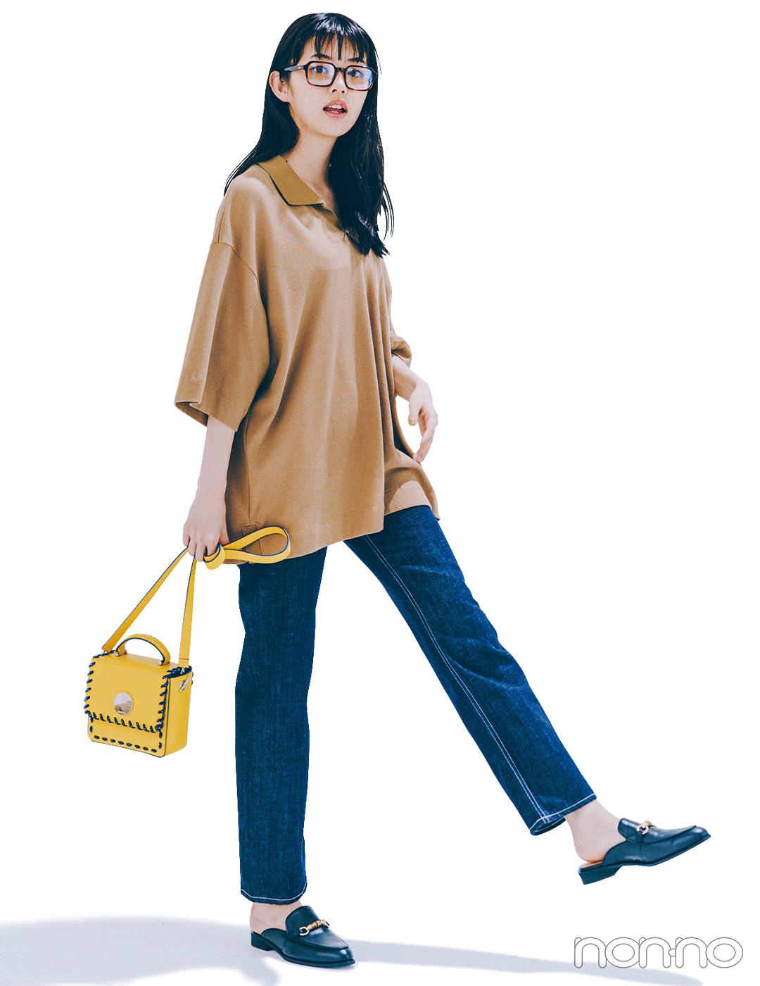 メンズのポロシャツ&デニムで定番ワンツーコーデを新鮮に!【毎日コーデ】