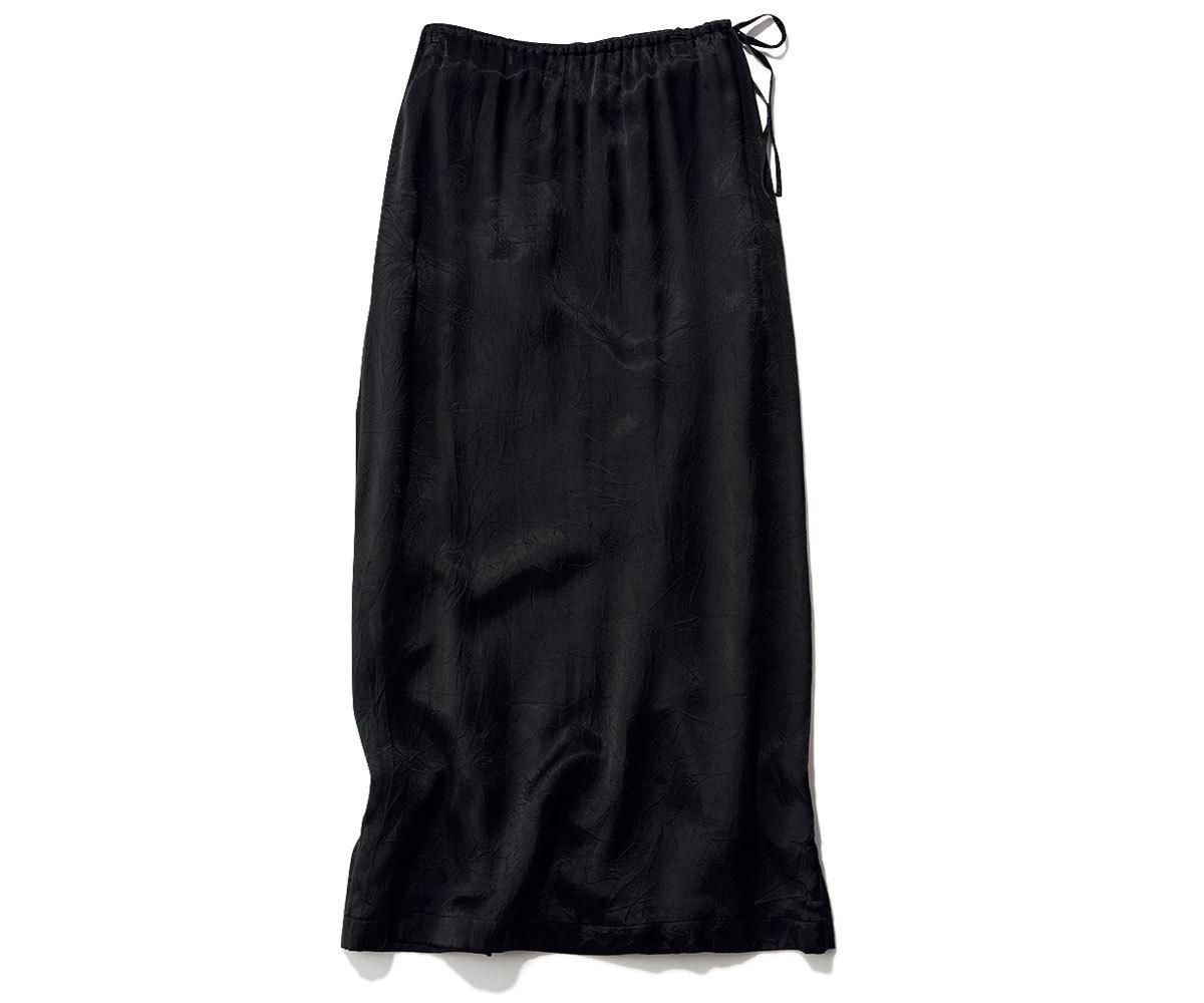 INSCRIRE 光沢ナロースカート