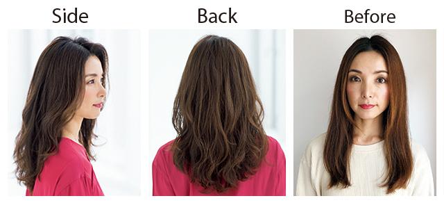 【1カ月前】まずはサロンでふんわりヘア仕込み!【同窓会までに髪のボリュームアップ大作戦】_5_2