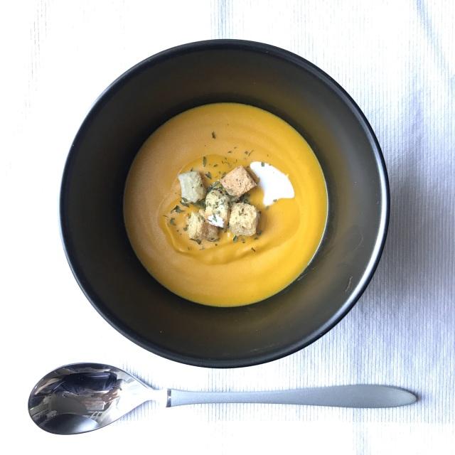 作り置きスープで簡単ワンプレート朝ごはん!_1_1