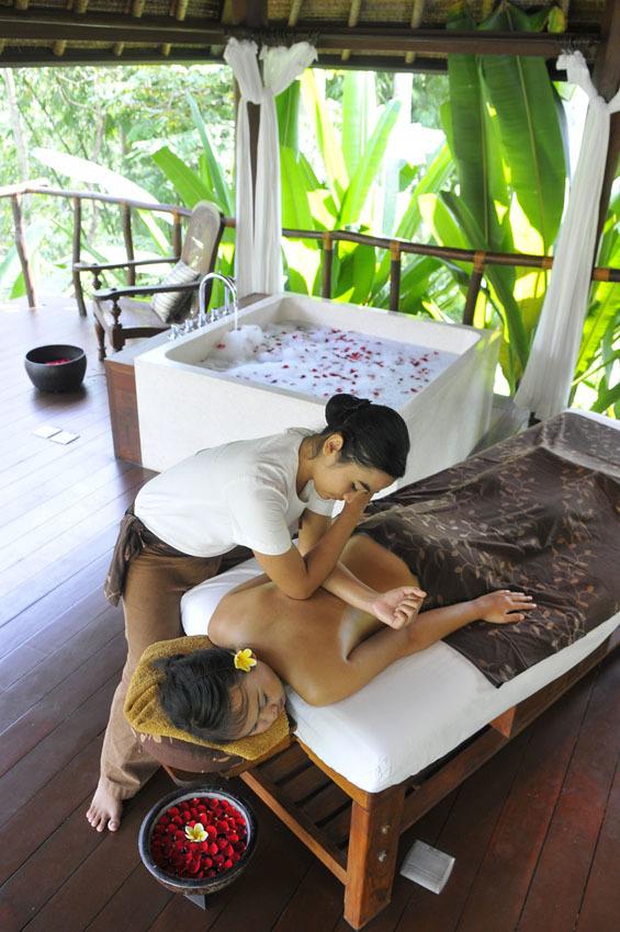 見事な熱帯の庭園 カユマニス ウブド 【インドネシアのお薦めホテル】_1_5-2