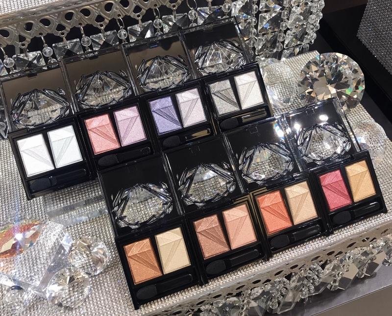 ケイトの秋新色、クラッシュダイヤモンドアイズは全8色
