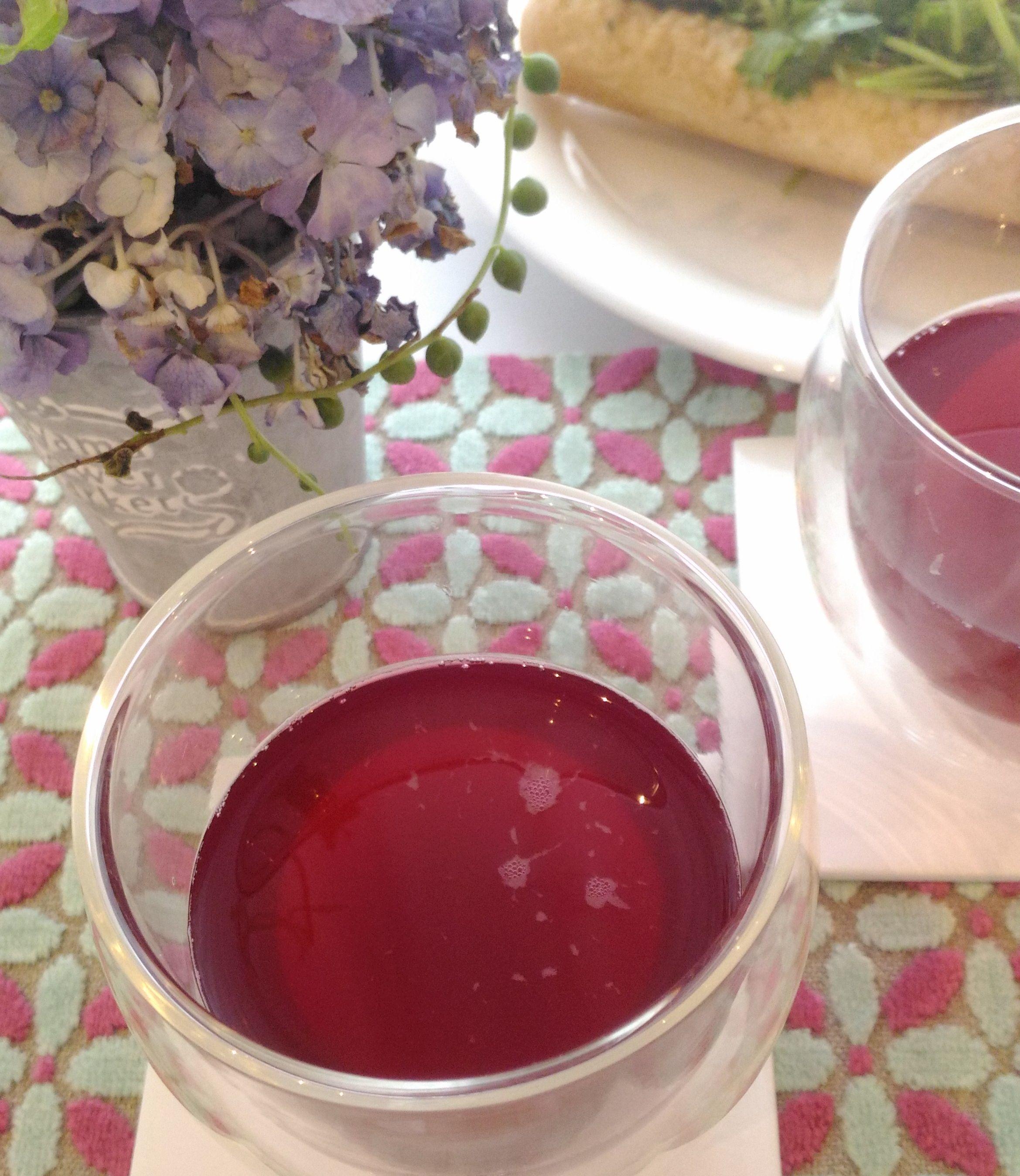 夏疲れ回復レシピ②:母の味・赤しそドリンクを食前に_1_1