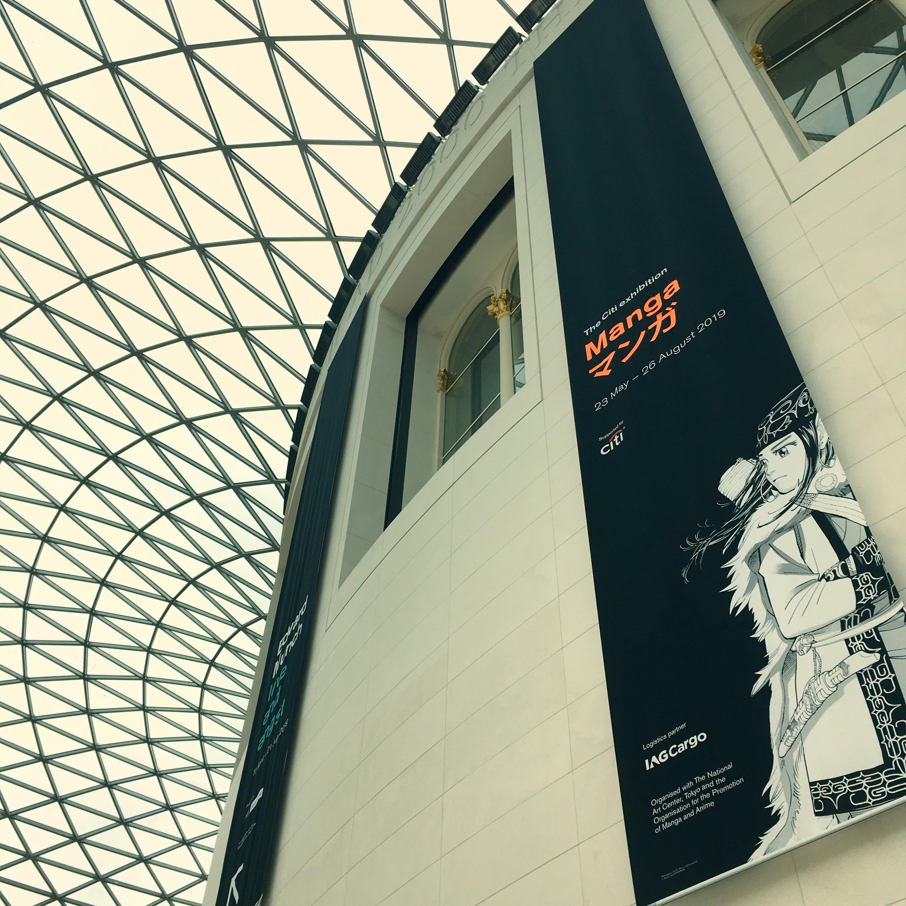 大英博物館の「マンガ展」へ。_1_1-1