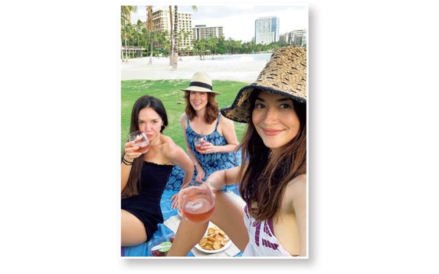 ブレンダのハワイ生活 ビーチでピクニック