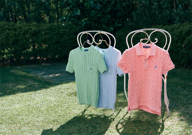 ガーデンパーティを楽しむようにポジティブに 「ポロ ラルフ ローレン」で出会う、 心弾む服_1_6