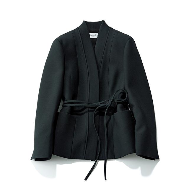 クラス感漂うきもの風デザインが新鮮な「ディオール」のニュージャケット