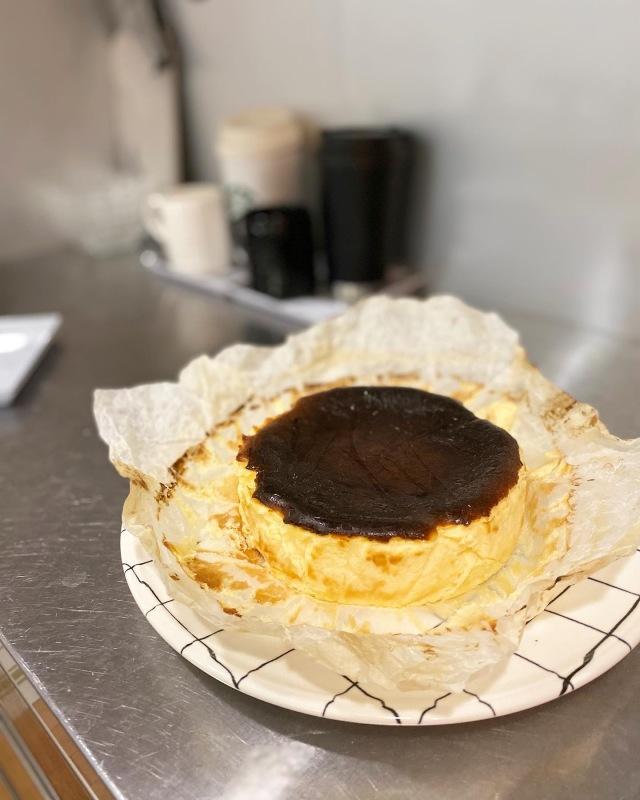 週末におすすめのお菓子作り♡バスクチーズケーキ_1_4-1