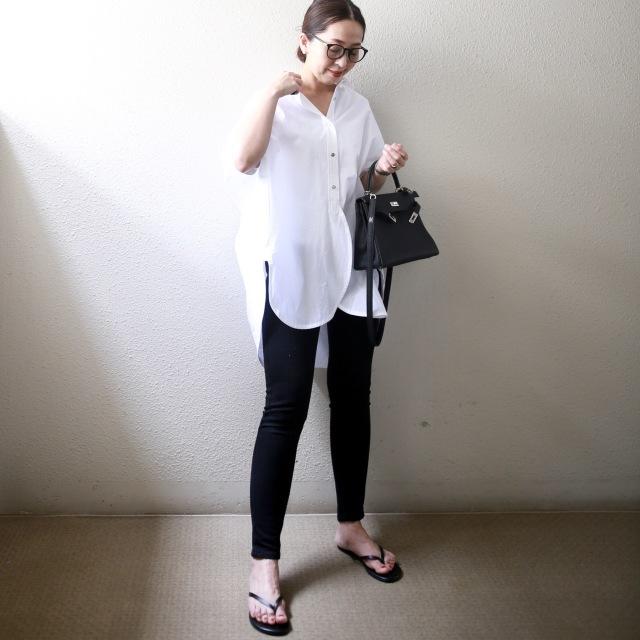 困った時の白いシャツ。_1_4