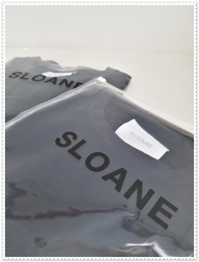 SLOANEのコットンTシャツを夫婦お揃いで♪_1_2