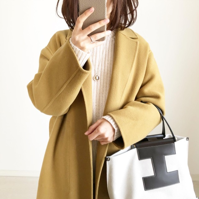 『UNIQLO U』ローゲージニットNATURAL着回しコーデ【tomomiyuコーデ】_1_3