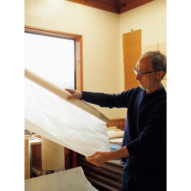 Washi Studio かみこやのロギール・アウテンボーガルトさん