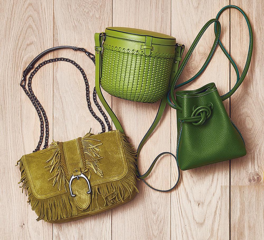 グリーンのバッグ3選