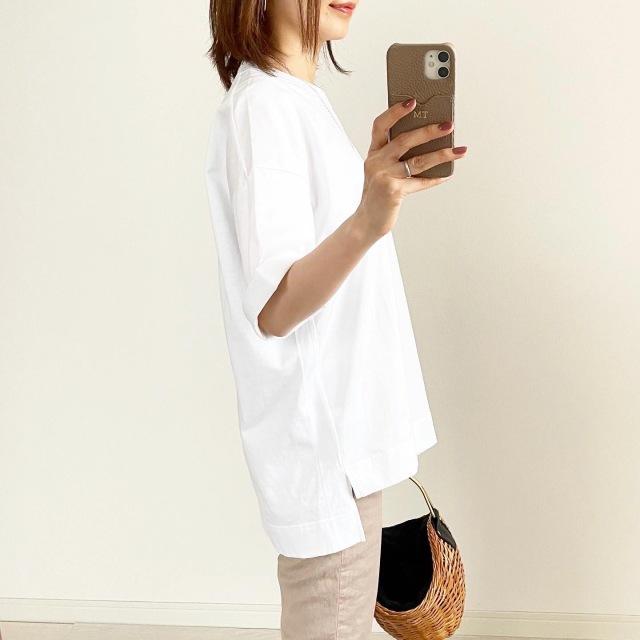 『UNIQLO+J』神Tシャツ買い足しました!【tomomiyuコーデ】_1_2
