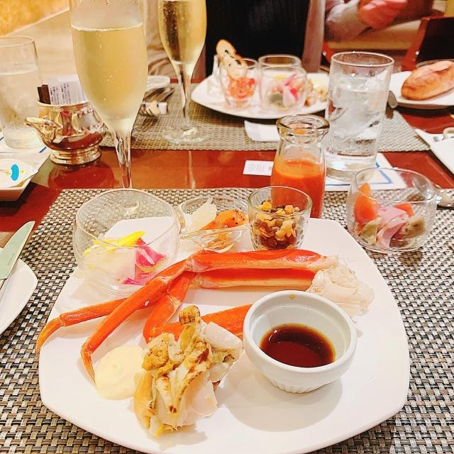 ヒルトン東京 ホテル ビュッフェ マリー アントワネットの晩餐会