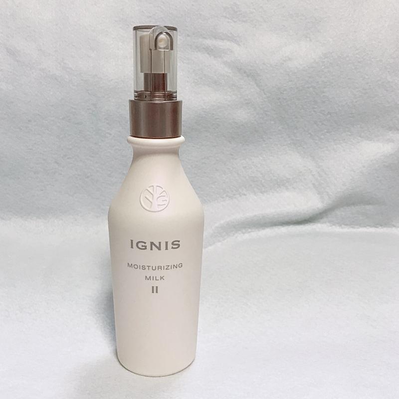 IGNISのモイスチュアライジングミルク
