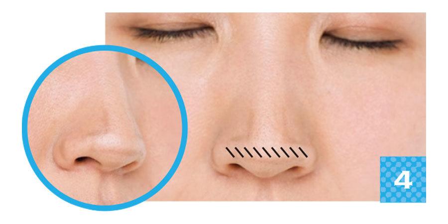 美鼻を作るカモフラメイク2_7